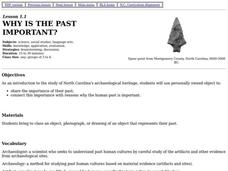 Why is the Past Important? Lesson Plan
