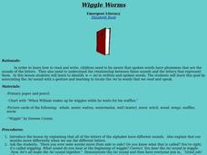 Wiggle Worms Lesson Plan