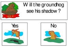 Will The Groundhog See His Shadow? Worksheet