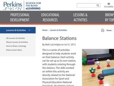 Balance Stations Lesson Plan