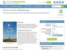Wind Energy Lesson Plan