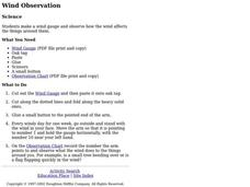 Wind Observation Lesson Plan