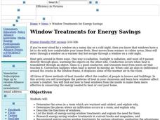 Window Treatments for Energy Savings Lesson Plan