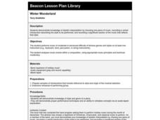 Winter Wonderland Lesson Plan