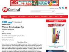 Wipeout (Dancing Legs) Tag Lesson Plan
