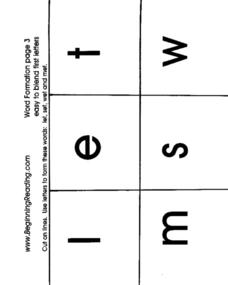 Word Formations Lesson Plan