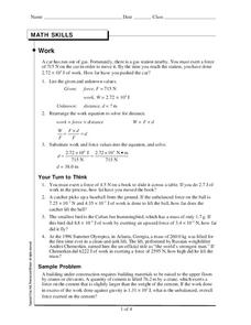 Work Worksheet