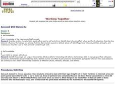 Working Together Lesson Plan