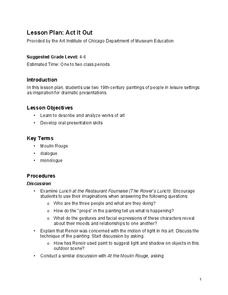 Act It Out Lesson Plan