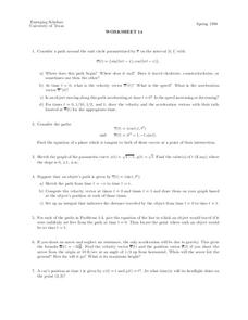 Worksheet 14 Lesson Plan