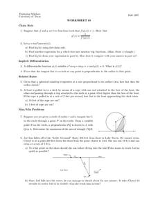 Worksheet 18 Worksheet