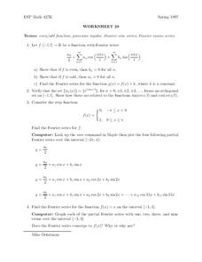 Worksheet 28 Worksheet