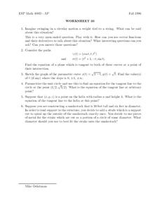 Worksheet 30 Worksheet
