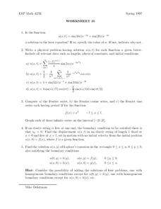 Worksheet 35 Worksheet