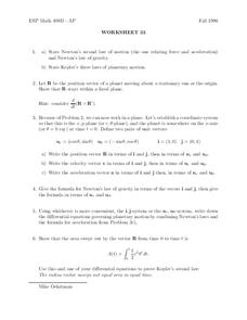 Worksheet 33 Worksheet