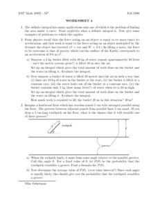 Worksheet 4 Worksheet