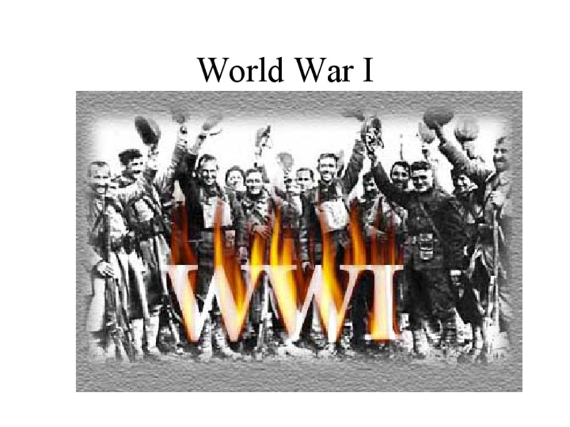 World War I Presentation
