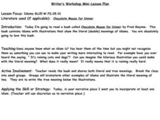 Writer's Workshop Lesson Plan