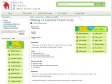 Writing a Historical Fiction Story Lesson Plan