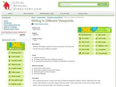 Writing in Different Viewpoints Lesson Plan