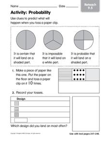 Activity: Probability Worksheet