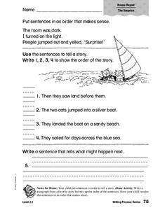 Writing Process: Revise Worksheet