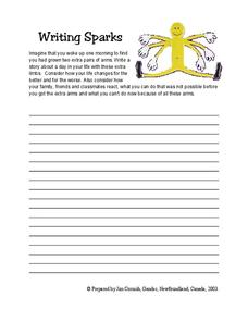 Writing Sparks Lesson Plan