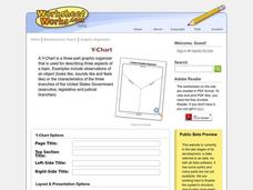 Y Chart Worksheet