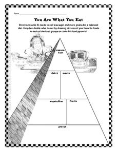 You Are What You Eat Worksheet