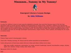 Yummy in My Tummy Lesson Plan