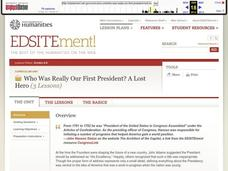 Lost Hero: Who Was Really Our First President? Unit