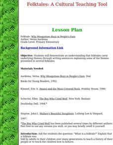 Folktales Lesson Plans & Worksheets | Lesson Planet