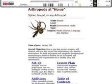 Arthropods at Lesson Plan