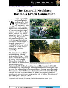 The Emerald Necklace: Boston's Green Connection Lesson Plan
