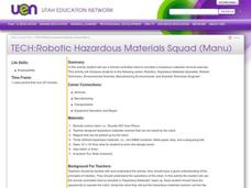 TECH:Robotic Hazardous Materials Squad (Manu) Lesson Plan