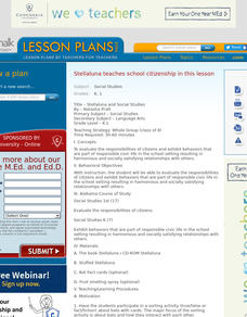 Stellaluna and Social Studies Lesson Plan