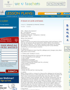 What's the Solution? Lesson Plan
