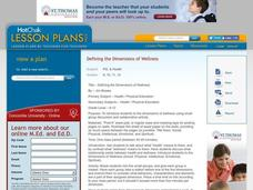 Defining the Dimensions of Wellness Lesson Plan