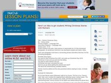 Partner Christmas Story Lesson Plan