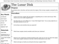 The Lunar Disk Lesson Plan