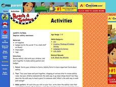 Safety Patrol Lesson Plan