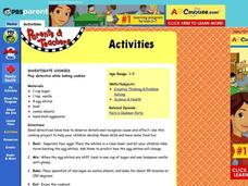 Investigate Cookies Lesson Plan