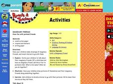 Imaginary Friends Lesson Plan