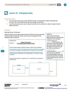 Changing Scales Assessment