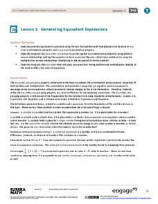 EngageNY Grade 7 Math Module 3: Expressions and Equations