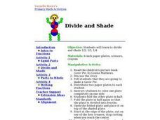 Divide and Shade Lesson Plan