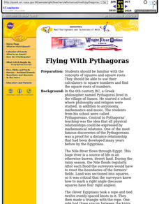 Flying with Pythagoras Lesson Plan
