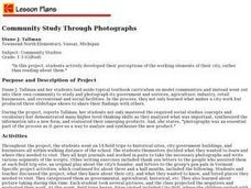 Community Study Through Photographs Lesson Plan