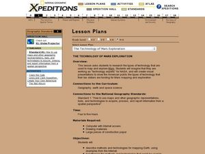 The Technology of Mars Exploration Lesson Plan