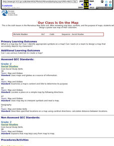 Our Class Is On the Map Lesson Plan